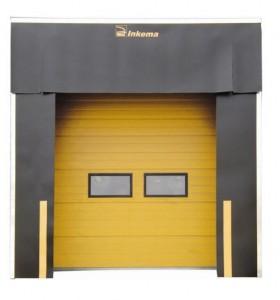 Insulated sectional overhead door