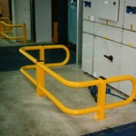 fabricated steel barrier