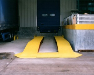 Loading bay yard ramps